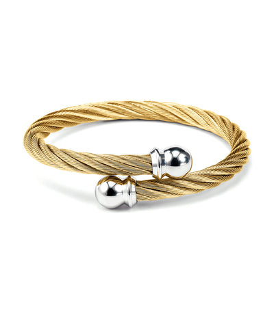 Celtic Bangle Yellow Gold