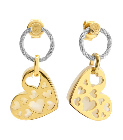 charriol universal love earrings