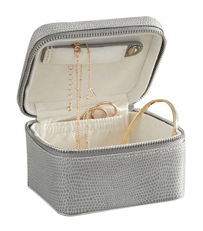 pottery barn mckenna gray jewelry box collection