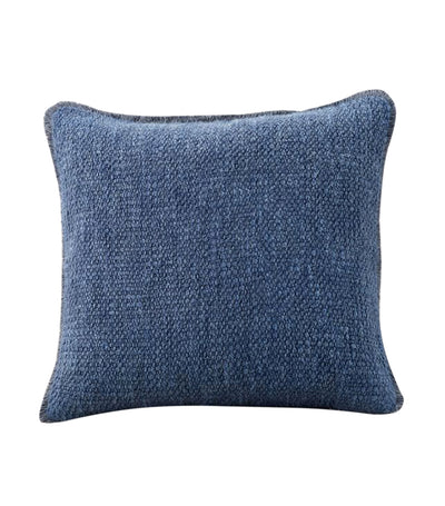 pottery barn duskin midnight textured pillow cover