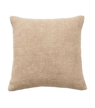 pottery barn faye straw linen textured pillow cover