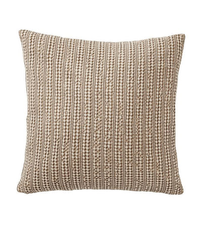 pottery barn honeycomb driftwood pillow cover