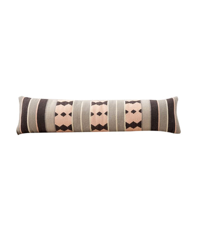 pottery barn nevis kilim wool lumbar pillow