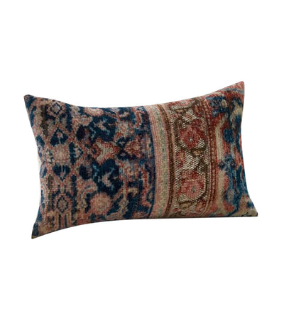pottery barn amaya velvet lumbar pillow cover