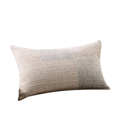 pottery barn mali handwoven lumbar pillow cover