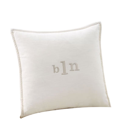pottery barn ivory washed velvet pillow cover