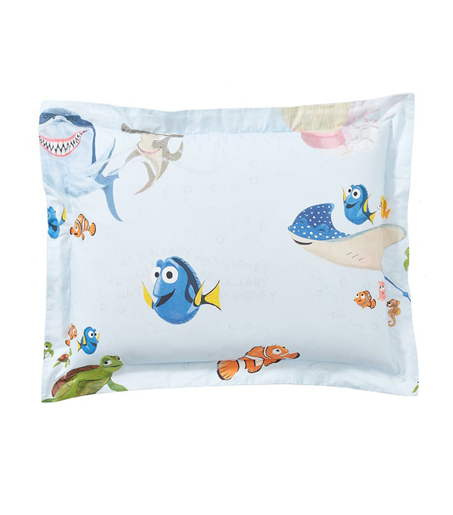 pottery barn kids disney and pixar finding nemo - pillow sham