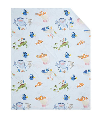 pottery barn kids disney and pixar finding nemo duvet cover - twin