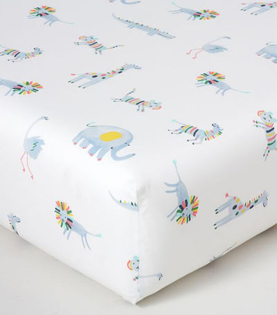 pottery barn kids ollie organic fitted crib sheet
