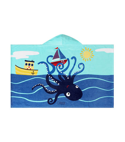 pottery barn kids octo kid beach hooded towel