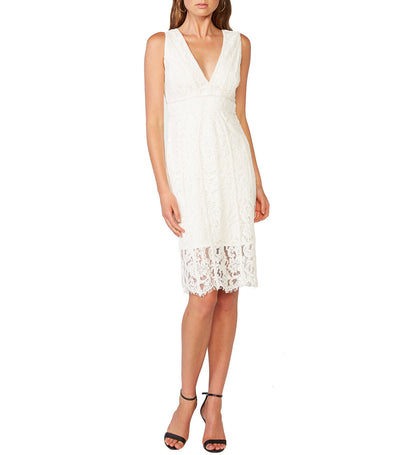 Halter Lace Dress Ivory