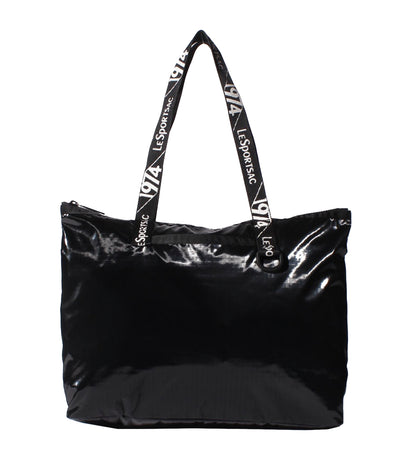 Daily East West Tote Onyx LP