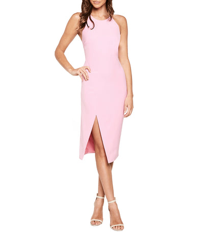 Vera Open Back Dress Marsh Pink