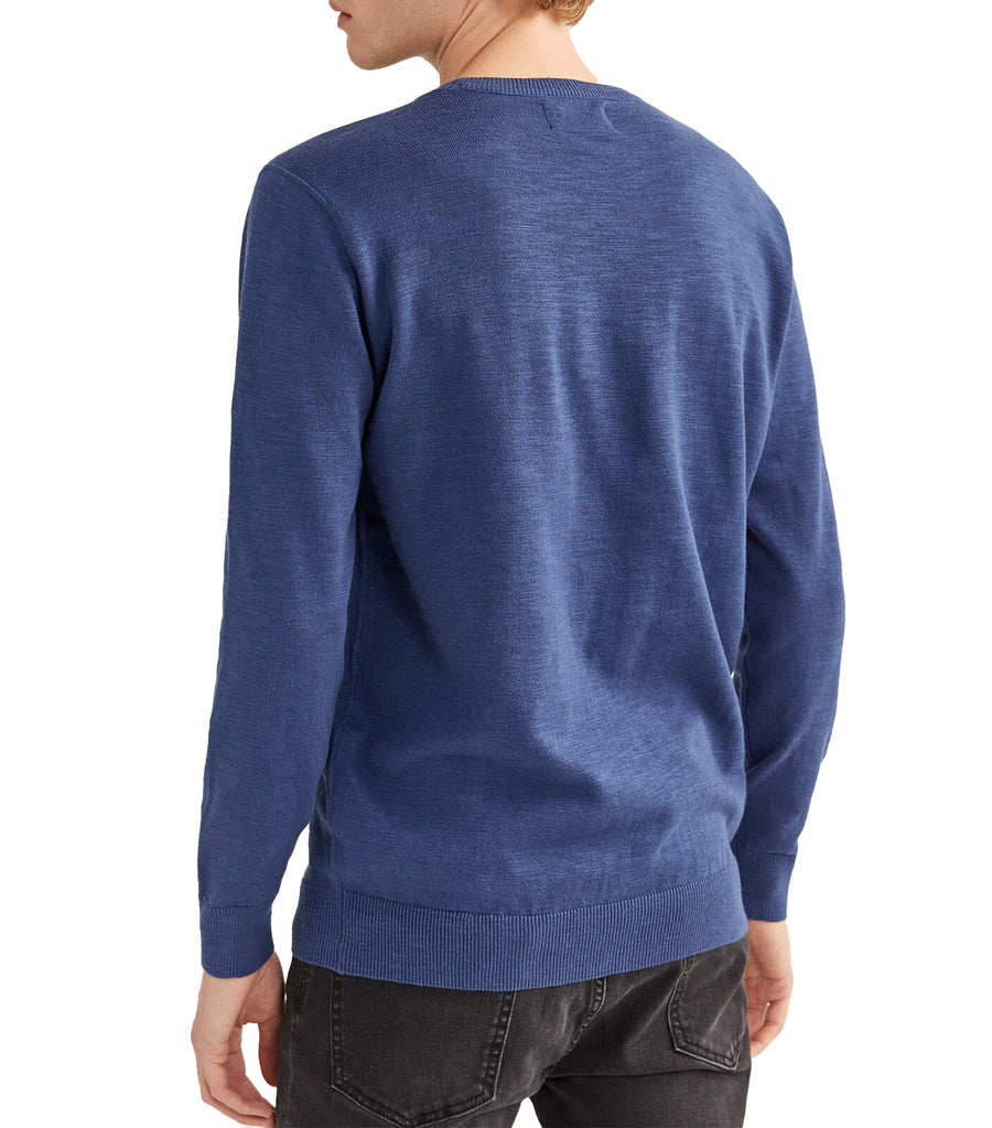 Slub Sweater Medium Blue