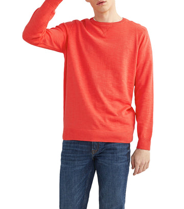 Slub Sweater Orange