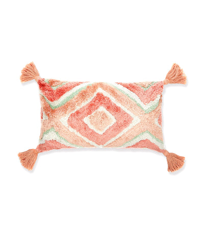Debenhams Fluffy Diamond Pattern Cushion