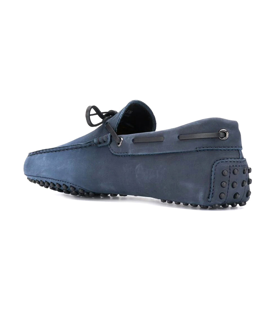 Gommino Driving Shoes in Nubuck Blue