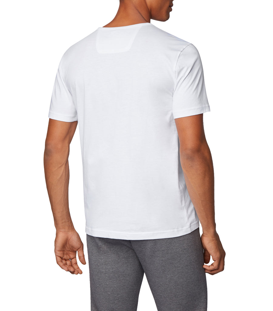 Regular-Fit T-Shirt With New-Season Artwork White