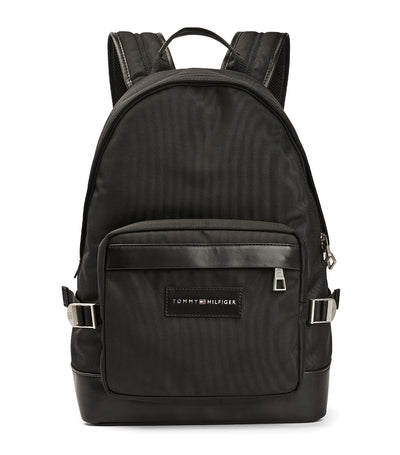 Uptown Recycled Polyester Backpack Black