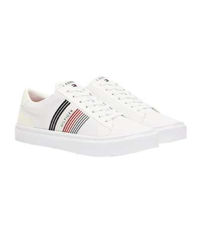 Lightweight Knit Low-Top Trainers White