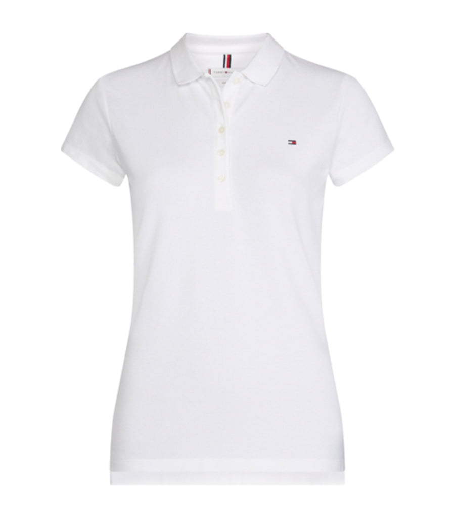 Heritage Slim Fit Polo Shirt Classic White
