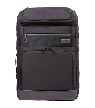 Ho-One Top-Open Backpack Black