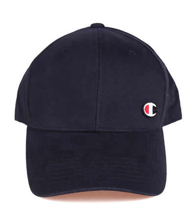 Classic Twill Hat with C Patch Logo Navy
