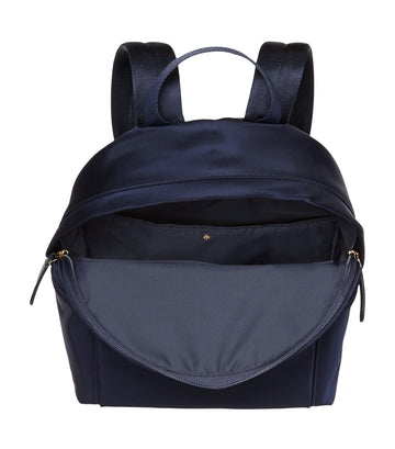 Nylon City Pack Large Backpack Navy