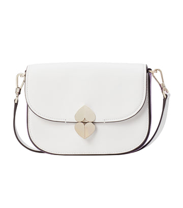 Lula Small Saddle Bag Optic White