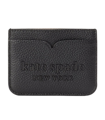 Logo Card Holder Black