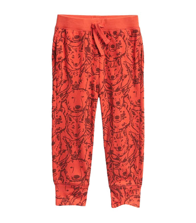 gap kids flame toddler print pull-on joggers