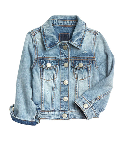 gap kids stone wash light toddler denim jacket