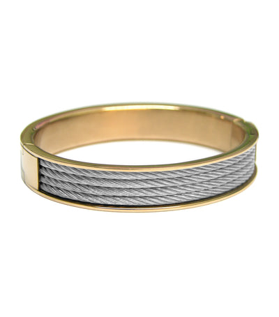 Forever Bangle Yellow Gold