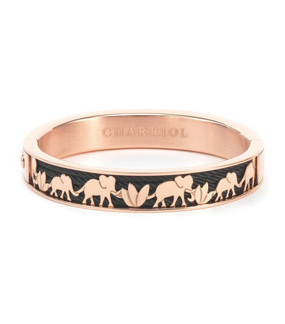 Forever Elephant Bangle Rose Gold