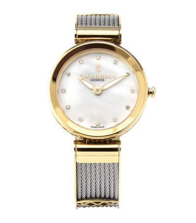 Forever Watch 32mm Yellow Gold and Silver