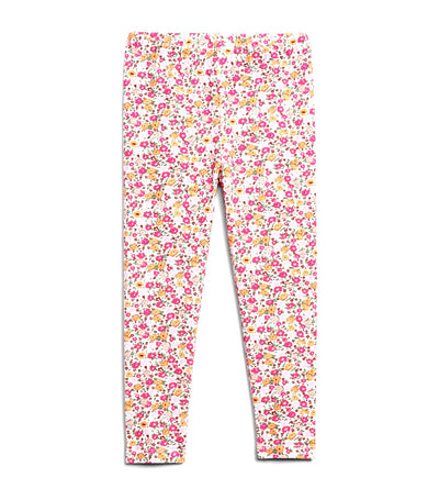gap kids daisy floral white toddler mix and match leggings