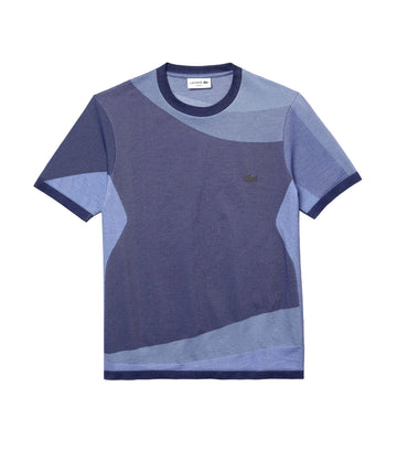 Men's Lacoste Motion Colourblock Ultra-Light T-shirt Methylene