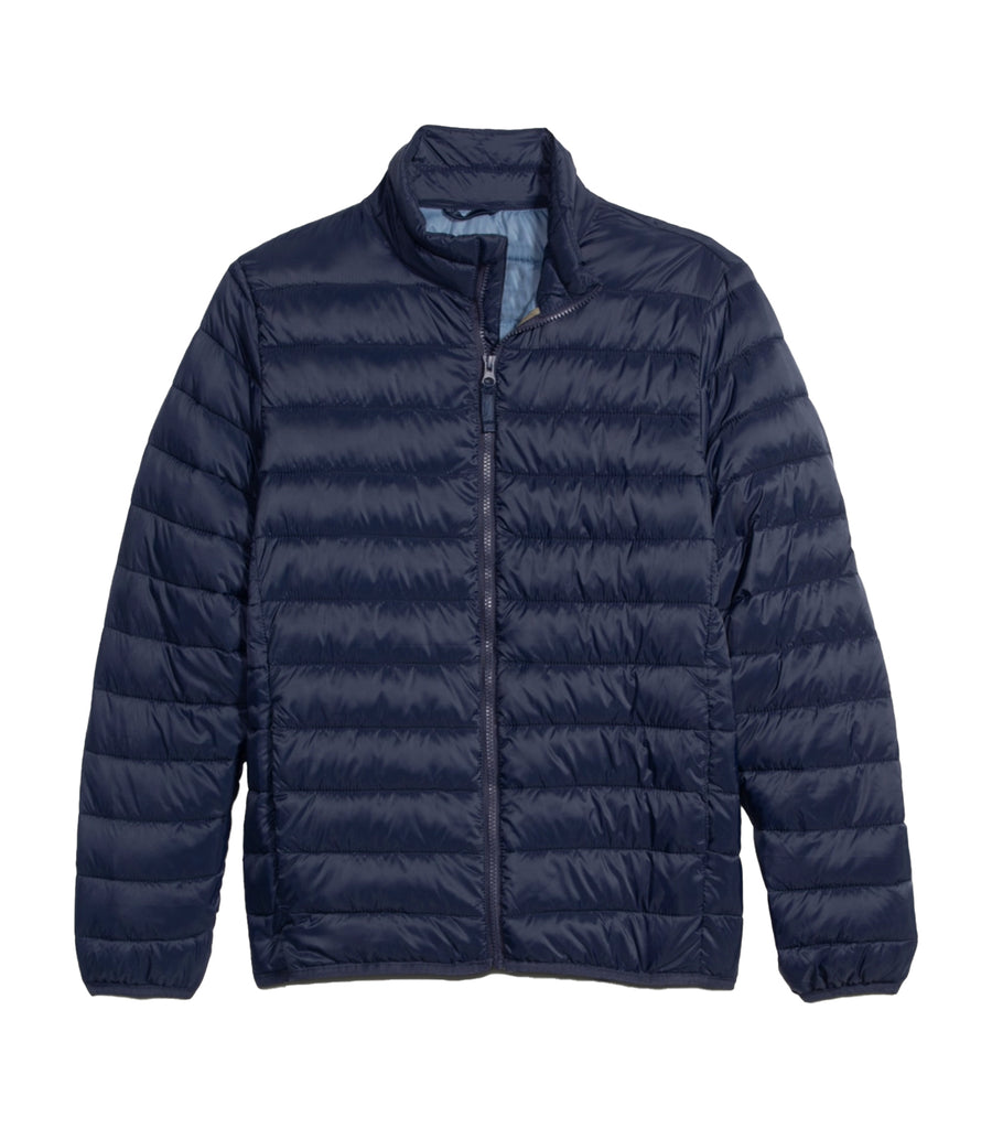 old navy puffer jacket - navy