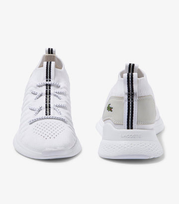 Women's LT Fit Flex Textile Trainers White
