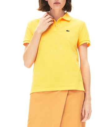 Women's Classic Fit Soft Cotton Petit Piqué Polo Shirt Daba