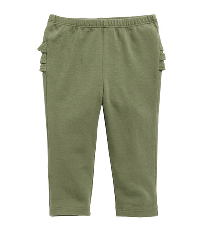 old navy toddler olive through this ruffle-trim leggings