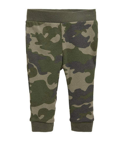 old navy toddler unisex camo printed jersey leggings
