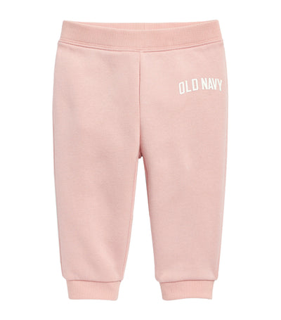 old navy toddler blush hue unisex logo-graphic joggers