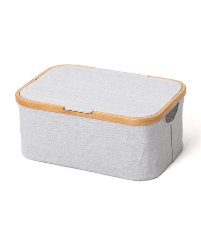 MakeRoom AKORE Storage Basket with Lid - Rectangle
