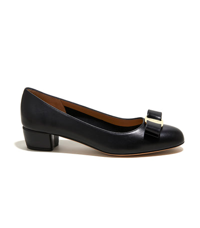Vara Bow Pump Shoe Black