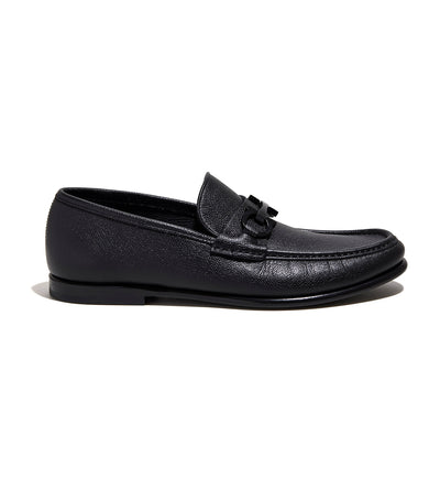 Reversible Gancini Moccasin Black