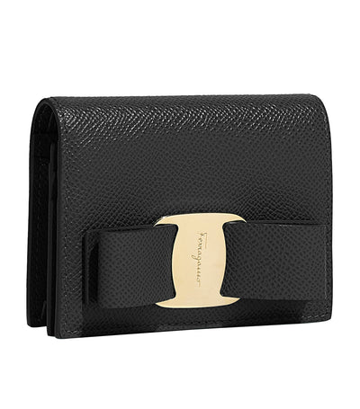 Vara Bow Coin Purse Black