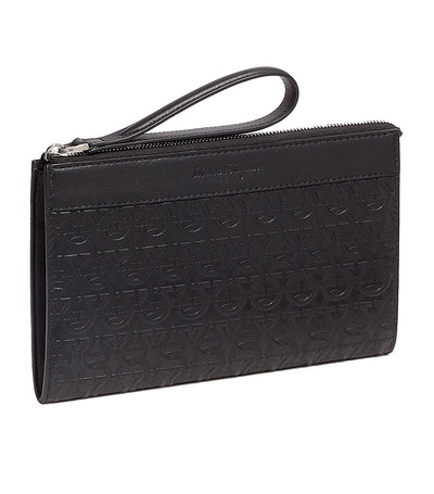 Gancini Document Holder Black