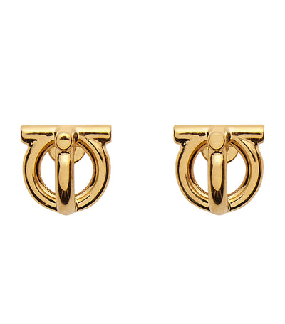 Gancini Earrings Gold
