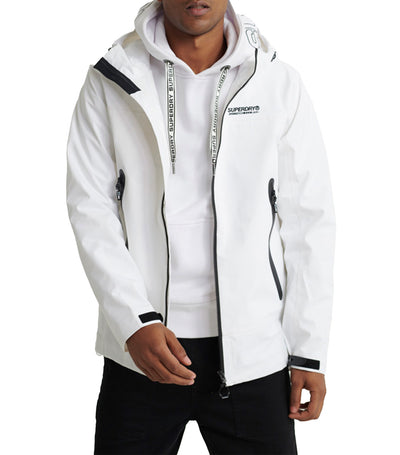 Hydrotech Waterproof Jacket White